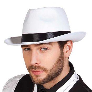 Chapeau Mafia blanc