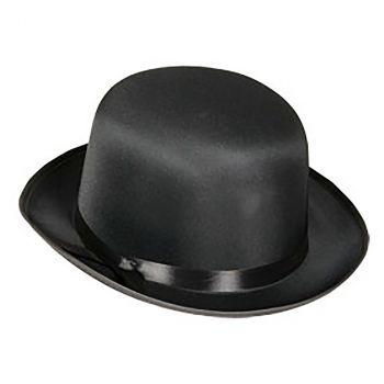 Chapeau melon salon noir 59cm