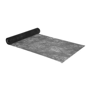 Chemin de table romance noir 30cmx10m