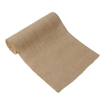 Chemin de table toile jute 30cmx5m