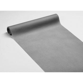 Chemin de table voie sèche gris souris 40cmx10m