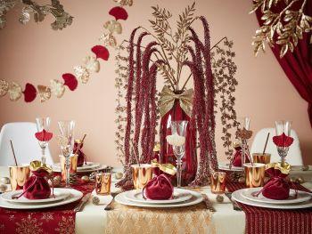 Table Christmas Marsala
