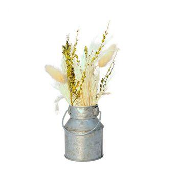 Composition florale naturelle pot 8x22