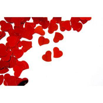 Confettis cœur rouge 10gr