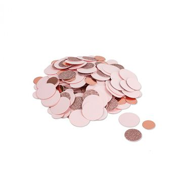 Confettis métallisés rose gold 14gr