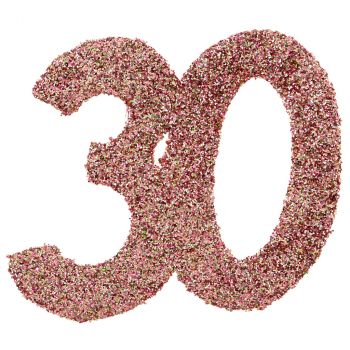 Confettis paillettés 30ans rose gold