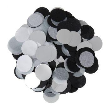 Confettis papier soie 15g argent
