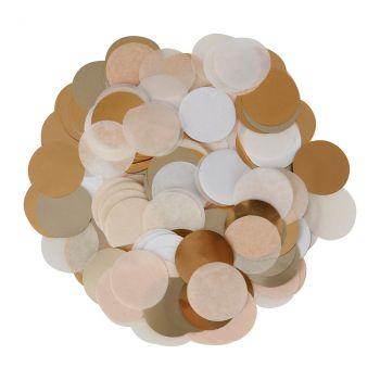 Confettis papier soir 15g or