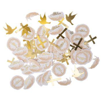 Confettis papier x100 pampa
