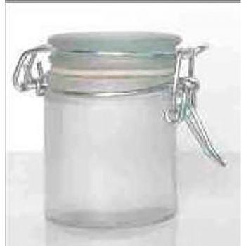 Confiturier en verre blanc 7cm