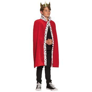 Costume garçon Manteau du Roi 80cm