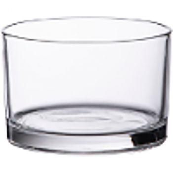 Coupe cylindrique en verre 8x12cm