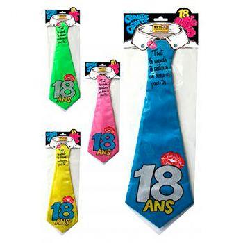 Cravate 18 ans 4 modèles au choix