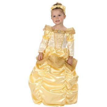 Déguisement bébé princesse dorée 2/3 ans