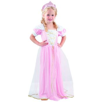 Déguisement bébé princesse rose 2/3 ans