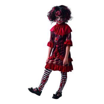 Déguisement de clown terreur fille L