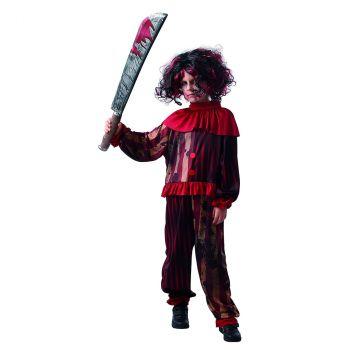 Déguisement de clown terreur garçon M