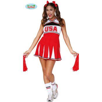 Déguisement femme Cheerleader T XL