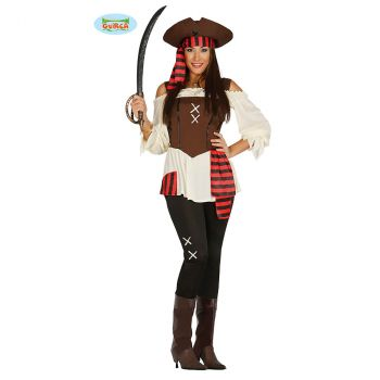 Déguisement femme Pirate 7 mer T L