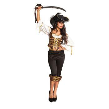 Déguisement femme pirate Tempest T 36/38