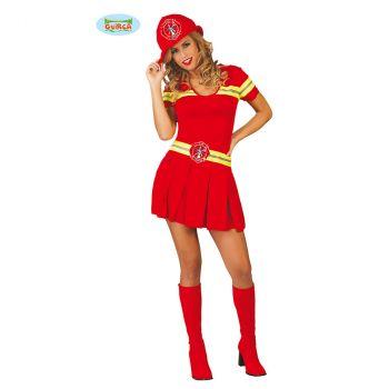 Déguisement femme Pompier T S