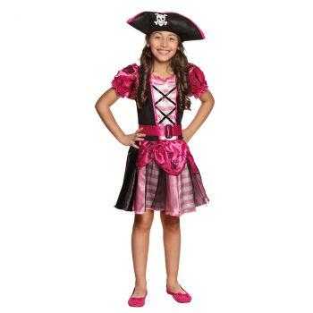 Déguisement fille pirate Nina 7/9 ans