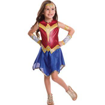 Déguisement fille Wonder Woman T L