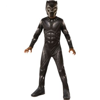 Déguisement garçon Black Panther 5/6 ans