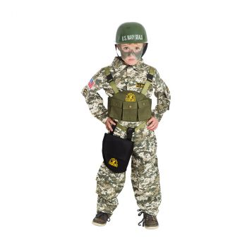 Déguisement garçon Navy Seal 116cm