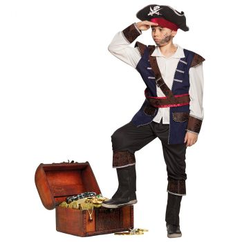 Déguisement garçon pirate Vince 10/12 ans