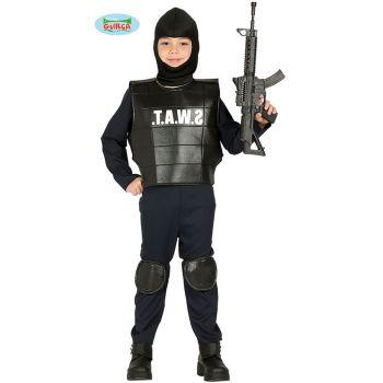 Déguisement garçon SWAT 7/9 ans
