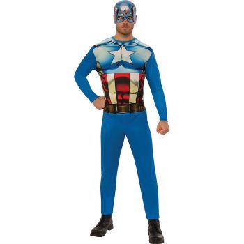 Déguisement Homme Captain America T M