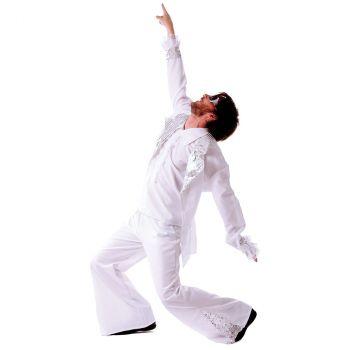 Déguisement homme Disco Forever blanc T XXL