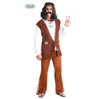 Déguisement homme Hippie à fleur T M