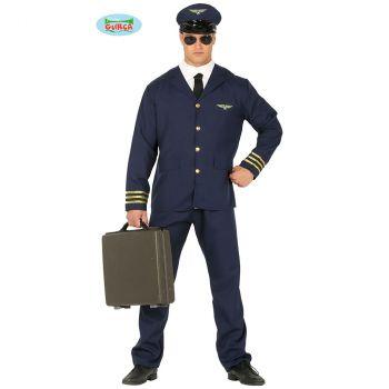 Déguisement homme pilote avion T M