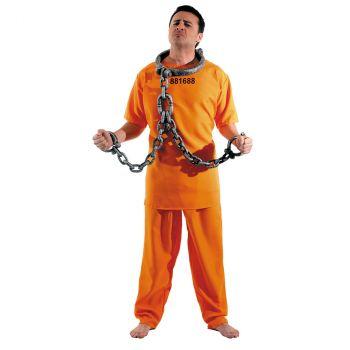 Déguisement Homme Prisonnier US T U
