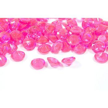 Diamants décoratifs fuchsia 60gr