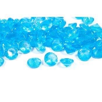 Diamants décoratifs turquoise 60gr
