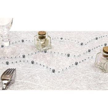 Guirlande 2,5m décoration argent