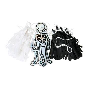 Guirlande squelette halloween 2,50m