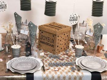 Table Joyeux Anniversaire