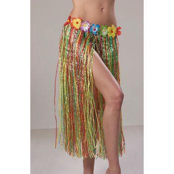 Jupe hawaienne 75cm multicolor