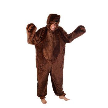 Kigurumi ours brun adulte 180cm