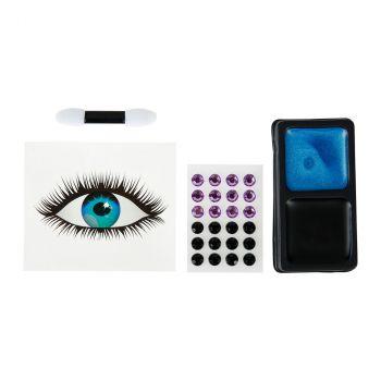 Kit de maquillage avec œil frontal