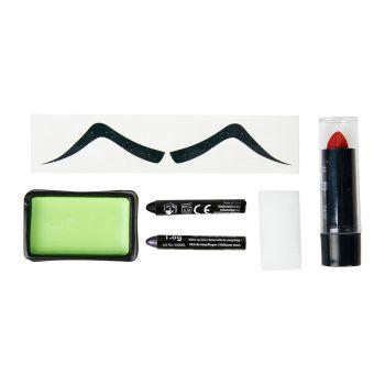 Kit de maquillage Diable vert