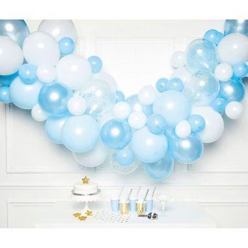 Kit décoration organique bleu