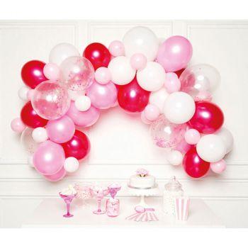 Kit décoration organique rose