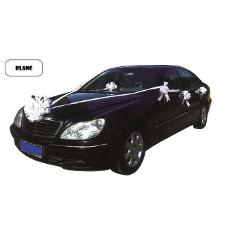 Kit décoration voiture blanc