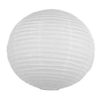 Lanterne japonaise 15cm blanc