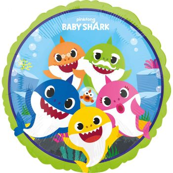 Le ballon Baby Shark h 45 cm